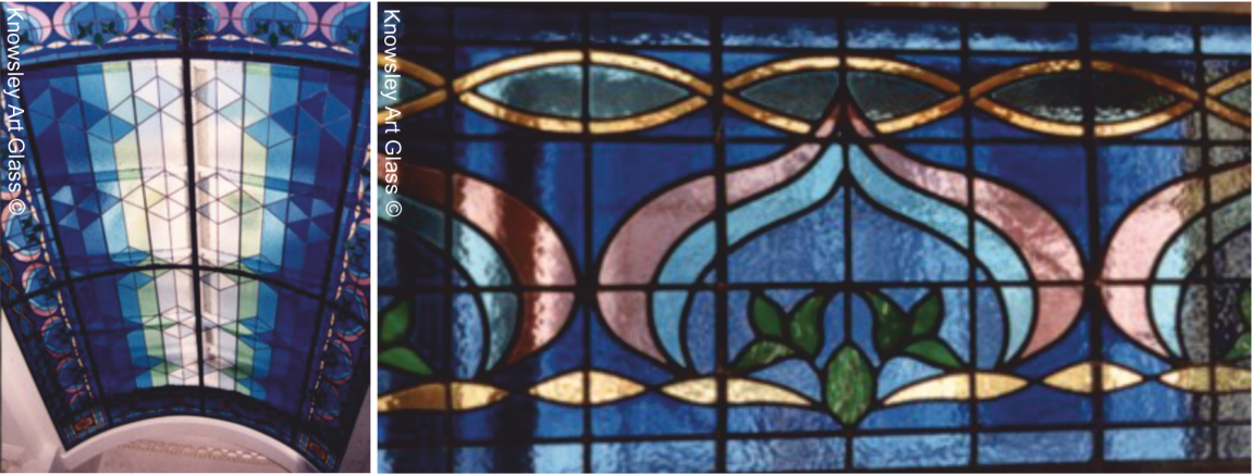 leadedlight ceiling Leaded glass window