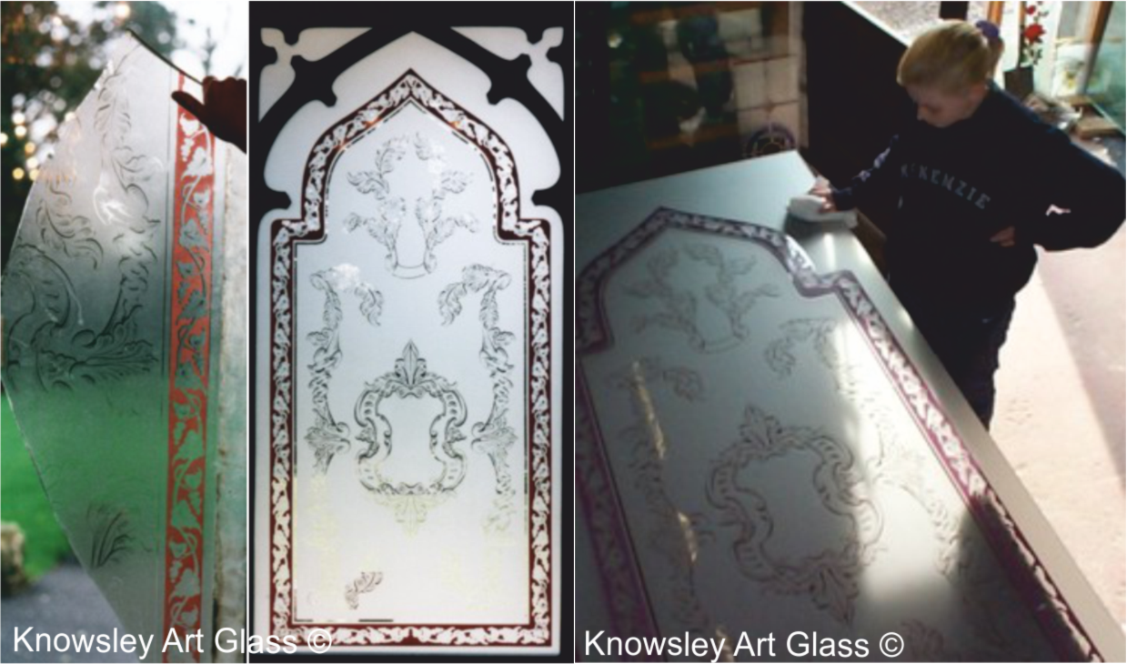 pearsons glass etched glass