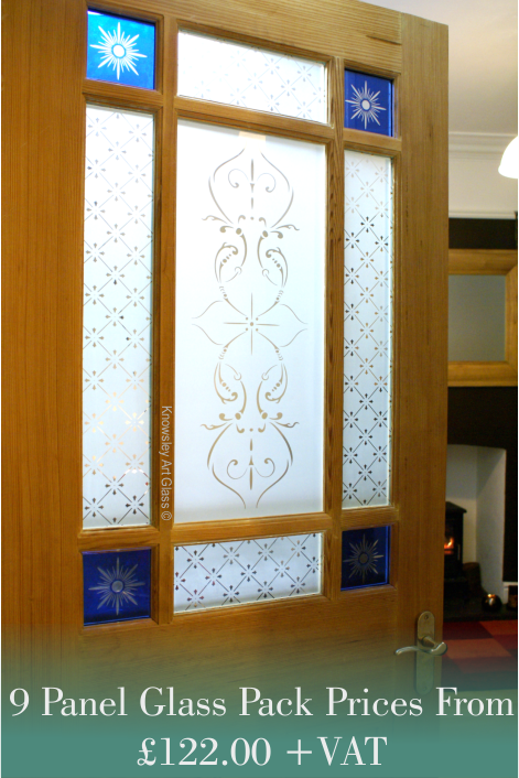 Knowsley Art Glass Etched Glass Traditional Leadlights